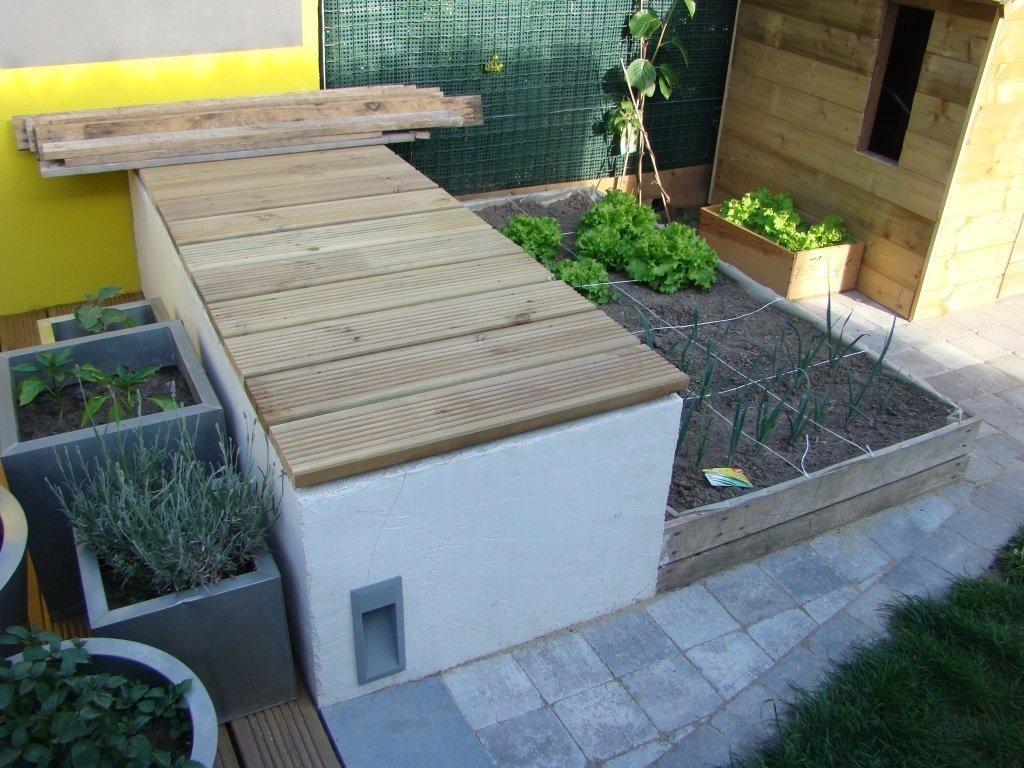 Béton Pour Terrasse Extérieure - abri jardin bois France