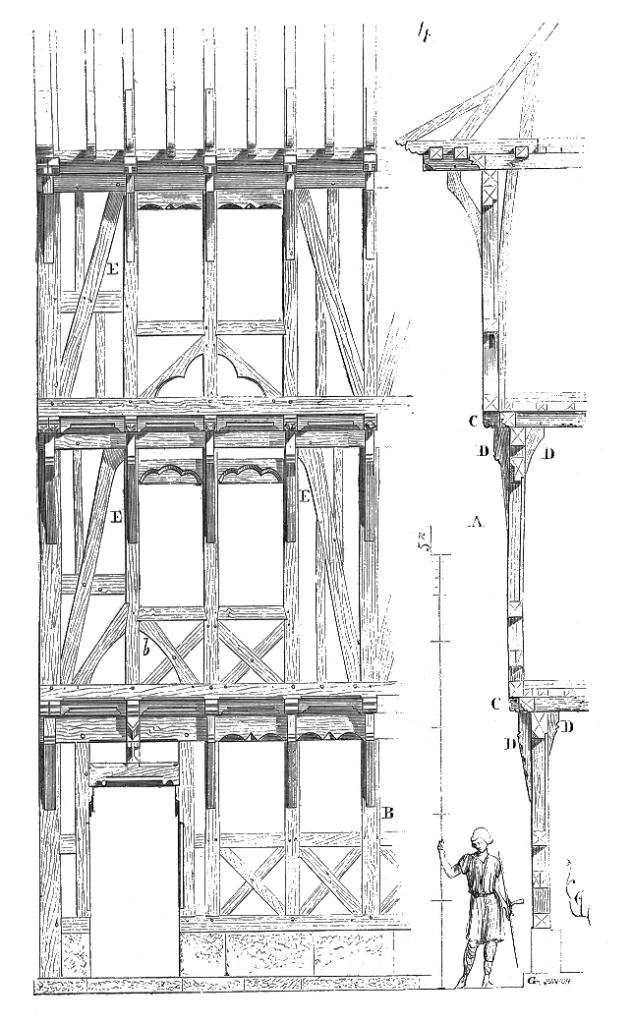detail montage ossature bois