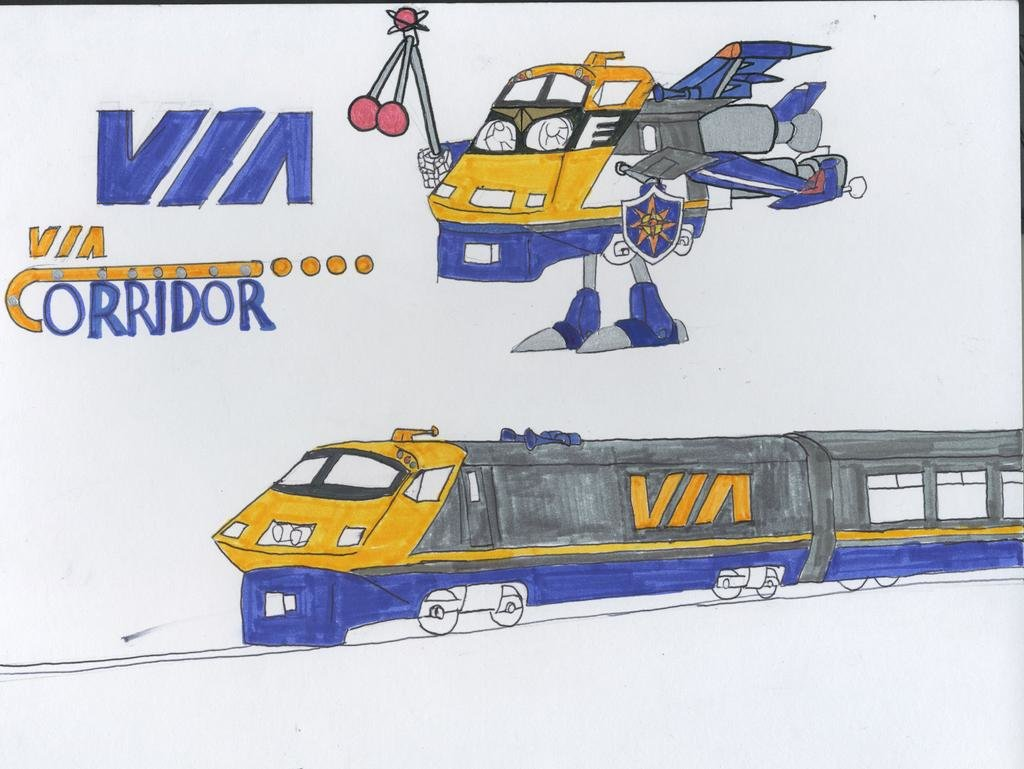 rideau a rail