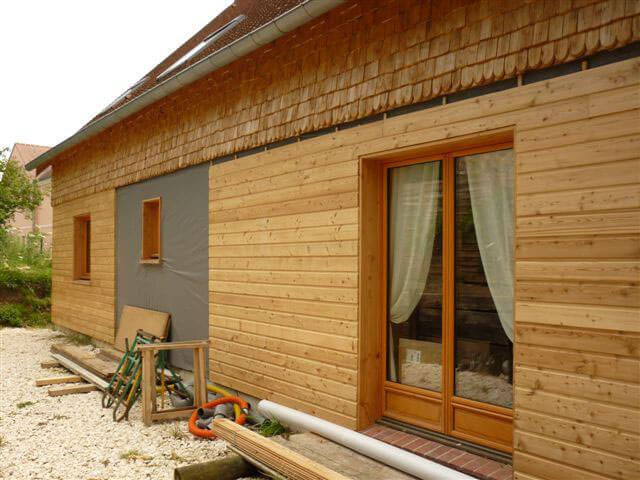 mur maison en bois isoler pour un euro
